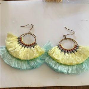 Dangle statement earrings
